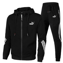 2021 Spring And Autumn New Casual Men's Hooded Suit Brand Sportswear Pullover Set Hoodie + Sweatpants Jogging Men's Pullover