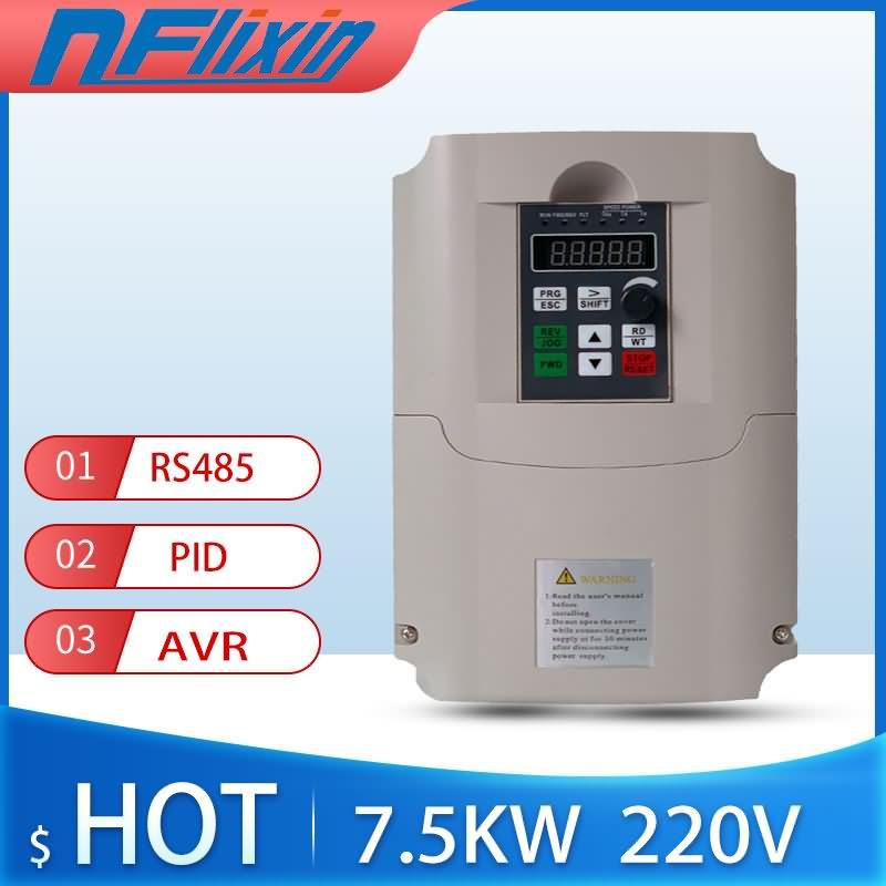 220V à 3 Phases 380V 7.5KW Onduleur/17A -- contrôle Vectoriel 7.5KW de Fréquence/Vfd 7.5KW/AC lecteur/VSD