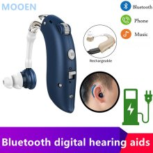 Siemens Quality USB Hearing Aid with Charger Medical Ear Apparatus Volume Control Adjustable Tone Deaf Equipment drop Shipping