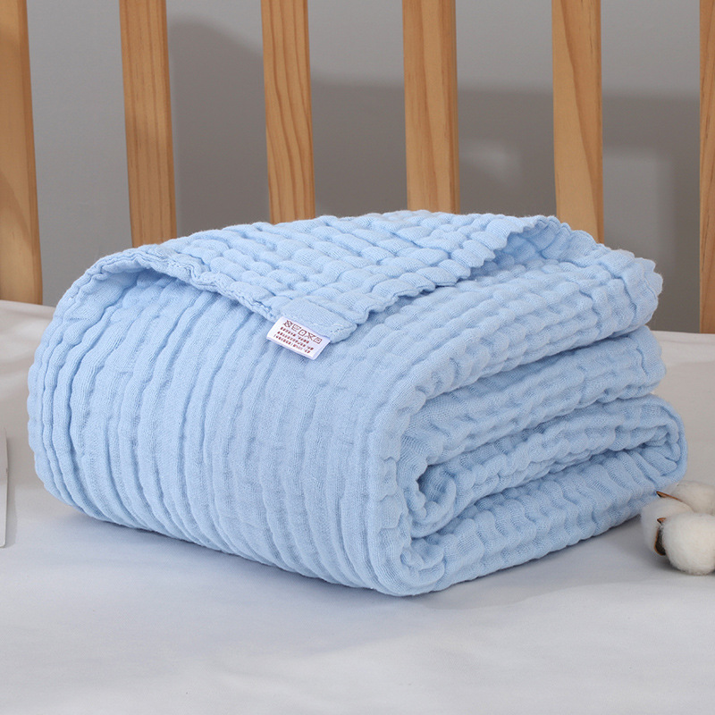 Baby Blankets Newrbon Cotton Muslin Blanket Wrap Bath Towel Muslin Swaddle Wraps Baby Muslin Squares Size 110*110cm