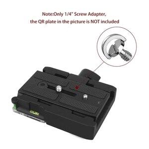 Image 5 - חם 3C 5 חבילת 1/4inch שחרור מהיר צלחת הרכבה בורג d טבעת D פיר QR בורג מתאם הר עבור DSLR מצלמה חצובה חדרגל QR