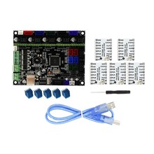 MKS-Gen L V1.0 Integrated Controller Mainboard + 5Pcs Tmc2208 V1.0 Stepper Motor Driver Kompatibel Ramps1.4/Mega2560 r3 untuk 3D P(China)