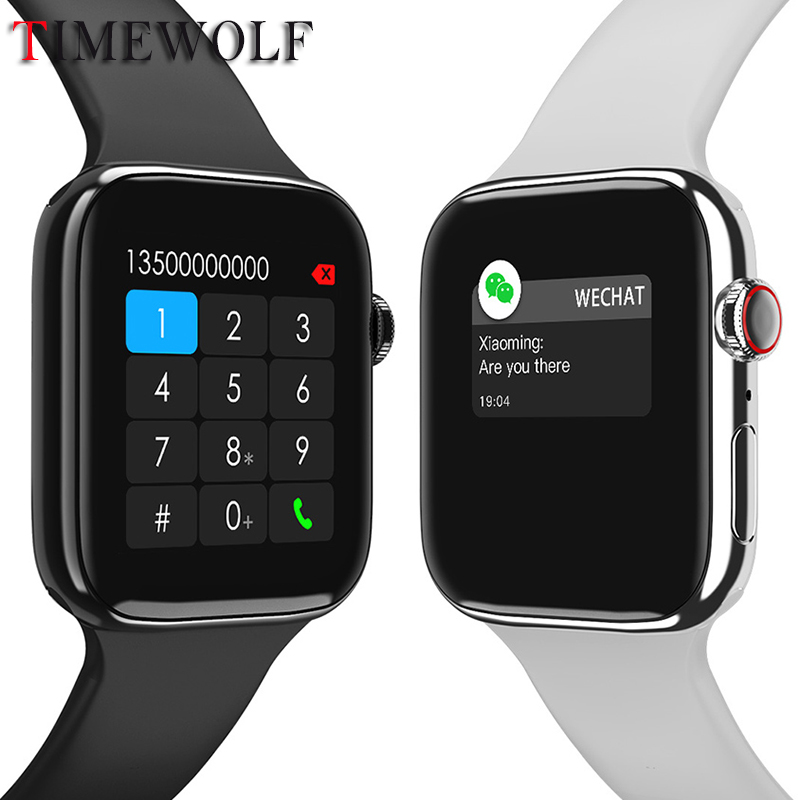 Timewolf Bluetooth Call Smartwatch Ip68 Waterproof Smart Watch Men Ecg Ppg Pressure Android Smart Watch For Apple Iphone 2020