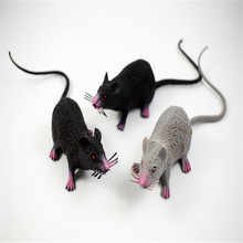 High Quality Tricky Joke Fake Lifelike Mouse Model Prop Halloween Toy Party Decor Utility Drop Shipping