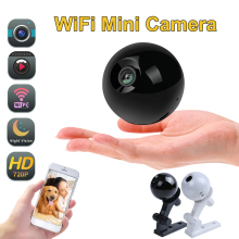 Mini Camera WIFI 720P IP Camera Wireless Small CCTV Infrared Night Vision Motion Detection SD Card Slot Audio APP Camera