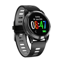 FFYY R15 Heart Rate Fitness Bracelet Sleep Monitor Fitness Tracker Blood Pressure Smartwatch Color Screen Round Wristband