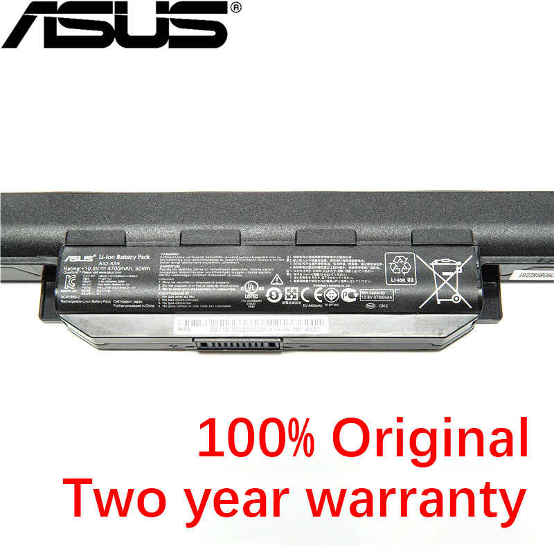 Original New Laptop Battery 4700 MAh ASUS A45 A55 A75 K45 K55 K75 R400 R500 R700 U57 X45 X55 X75 10.8 V 50wh