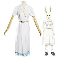 חם אנימה Beastars הארו תלבושות לוליטה הארו קוספליי שמלת חצאית נשים בית ספר אחיד לבן ארנב בנות יפני אחיד תלבושת