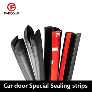 Image 1 - Combination Of Z, P, D Type Car Door Special Sealing Strip EPDM Rubber Soundproof And Dustproof Car  Protection Auto  Accessory