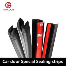 Tira de sellado especial para puerta de coche, accesorio de goma insonorizada y a prueba de polvo, protección de coche, combinación de Z, P, D