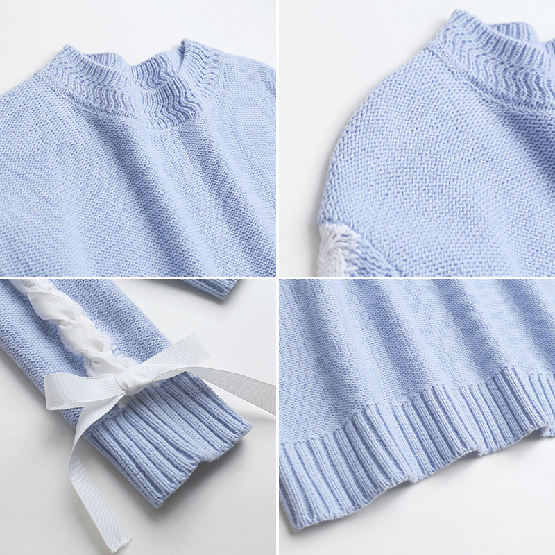 Sweaters Women And Pullovers Plus Size 5XL Spring Autumn Slim Solid Knitted Mujer Sweaters Straps Sleeve LX1434