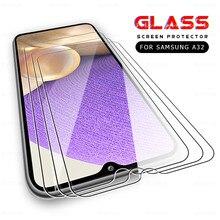 3 peças de vidro temperado para samsung galaxy 5g 4g a12 a02s a02 a32 a52 a72 m62 m02s samsun um 12 02 32 proteger filme protetor de tela