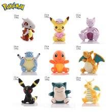 Оригинальные игрушки takara tomy pokemon плюшевая игрушка Пикачу
