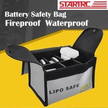STARTRC-Bolsa de seguridad para batería Lipo, resistente al agua, para modelos RC, multicóptero, Dron/coche/Barco, bolsa de almacenamiento de batería