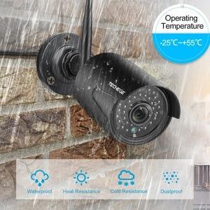 Image 5 - Techege 1080P אלחוטי אבטחת CCTV המצלמה מערכת ערכות אודיו שיא 8CH NVR WiFi חיצוני וידאו בית מעקב מערכת