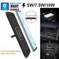 CARPRIE C1 Auto Qi Drahtlose Ladegerät Pad Schnelle Lade Dock Station Nicht-slip Matte Auto Dashboard Halter Stehen für iPhone XR