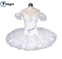 White swan lake Ballet Tutu ballet stage costumes professional Classical tutu for performanceBT9037