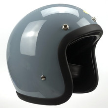 Motorcycle Helmet ECE certification Brand Japan TT&CO Thompson Glass Fiber Vintage Double D buckle with mask lens