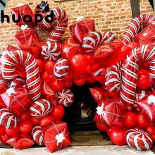 3 pçs 18 polegada papai noel folha balões casar árvore de natal papai noel boneco de neve hélio globos decoração suprimentos ano novo presentes bola