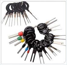 26 pçs kit de ferramentas de remoção terminal do carro ejetor terminal fio conector pino liberação extrator dec889