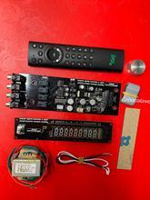 CS3310 VFD vakuum fluoreszierende display vorverstärker board DIY KIT fernbedienung amp bord mit transformator