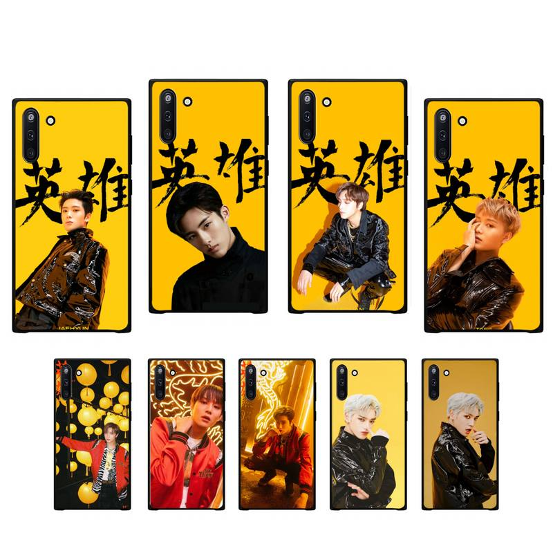YJY <font><b>kpop</b></font> NCT 127 black soft phone cover case for <font><b>Samsung</b></font> galaxy J2 J2 J3 J4 <font><b>plus</b></font> J5 prime J7 2016 <font><b>J6</b></font> note 5 8 9 10 <font><b>coque</b></font> image
