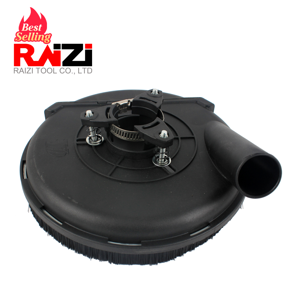 Raizi 7 Inch/180 Mm Universal Surface Grinding Dust Shroud Cover Tools For Angle Grinder Dust Collection
