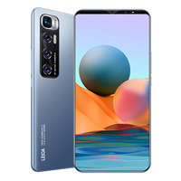 2021 Note 10 Pro Smart Phone 8G 256GB 48MP Camera 4G 5G Network Daul SIM Card Celular 6.1 inch Andriod Mobile Global Cell Phone 1