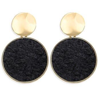 Geometric Shell Earrings For Women Earrings Jewelry Women Jewelry Metal Color: CS566021