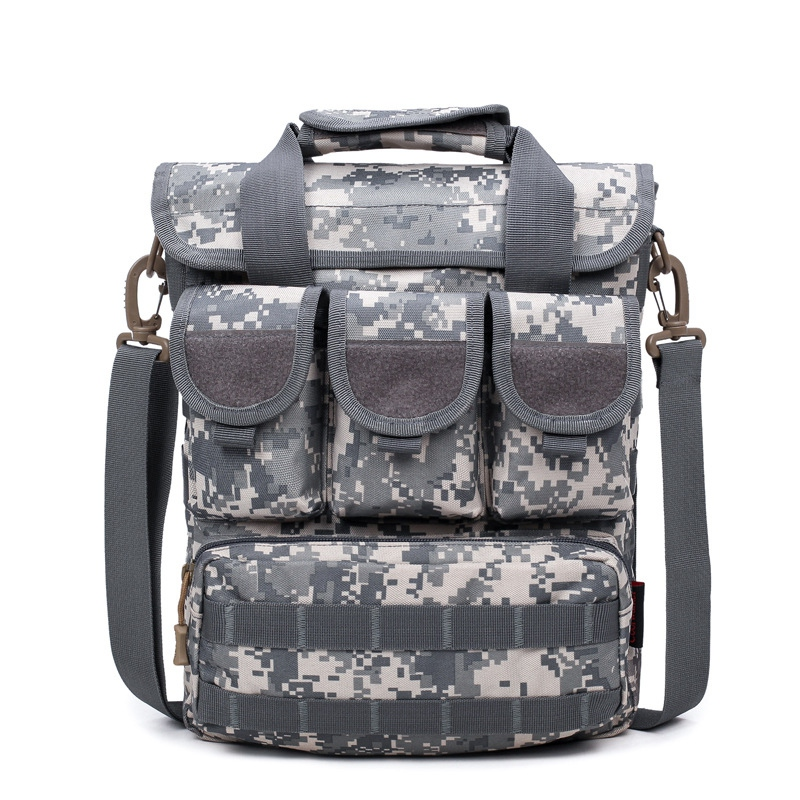 Sports Backpack One Shoulder Camouflage Outdoor Bag Portable Crossbody Bag Travel Field Kit
