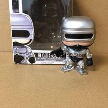 Поп робокоп с коробкой фигурой поп-игрушки Коллекционная модель игрушки для детей