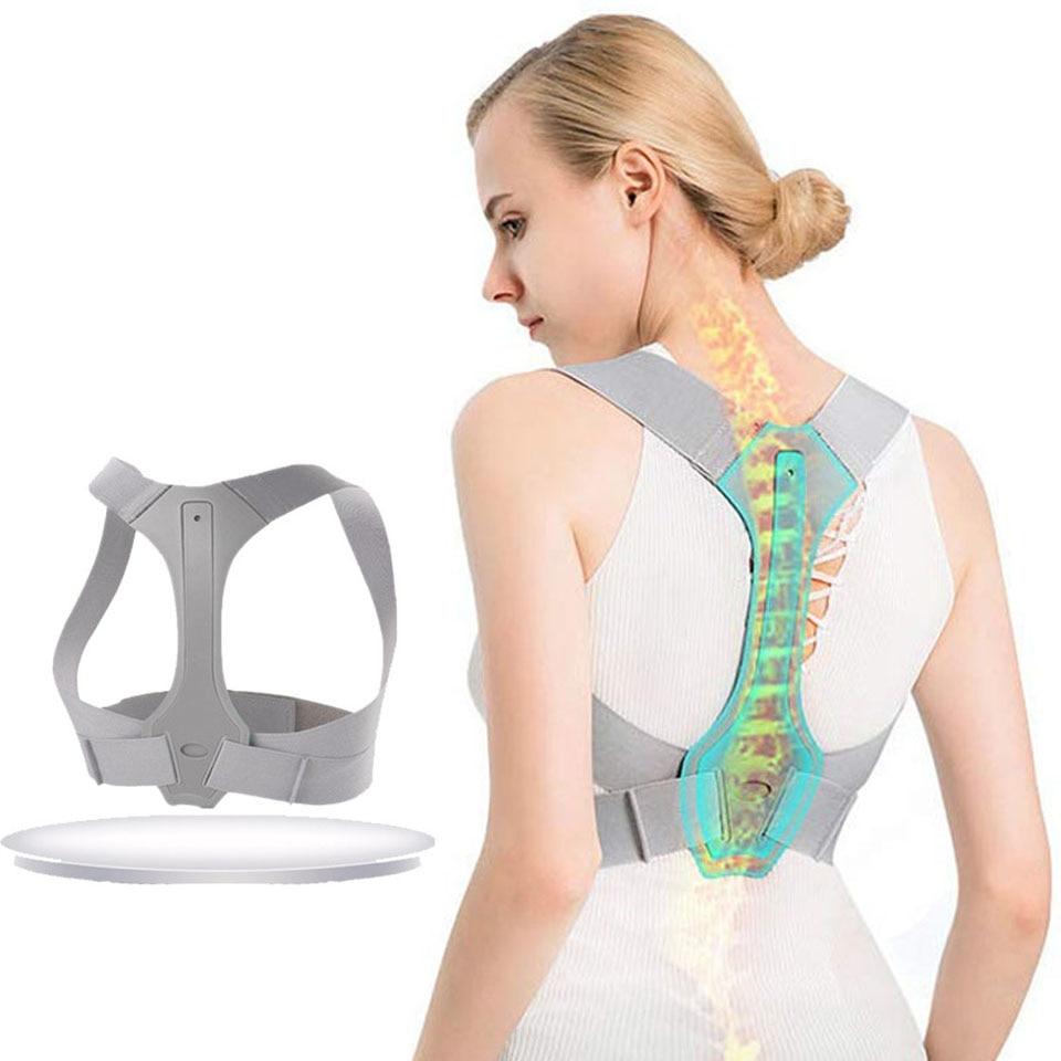 Correcteur de Posture pour hommes et femmes correcteur de Posture orthèse supérieure du dos réglable pour le soutien de la clavicule et le soulagement de la douleur