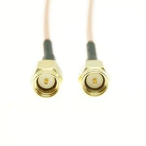 RG316 SMA Мужской к SMA Штекер РЧ разъем Jack разъем гибкий кабель удлинитель|Соединители|   | АлиЭкспресс