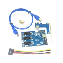 Riser-Card ITX Pci Express Pcie-Port Pci-E-Slot-Adapter Slots Mini To External-3 1-To-3
