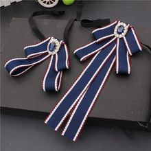White Collar Ribbon-Accessories Bowtie Shirt Business-Suit Gifts Men's And Women Daily