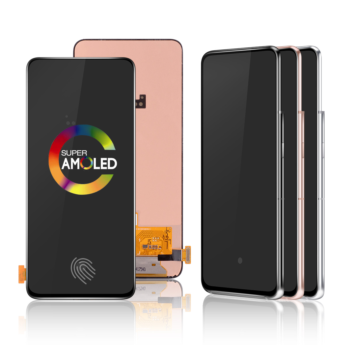 AMOLED <font><b>LCD</b></font> for <font><b>Samsung</b></font> <font><b>Galaxy</b></font> <font><b>A80</b></font> <font><b>LCD</b></font> Touch Screen Digitizer Assembly <font><b>LCD</b></font> for <font><b>Galaxy</b></font> A90 A805 SM-A805F / DS A905F SM-A90 image