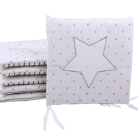 6Pcs Baby Bed Bumper Little House Pattern Crib Protection Infant Cot Newborn Bedding Baby Bed Bedding