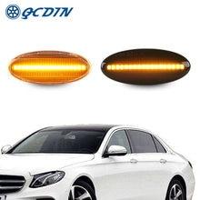 Qcdin 2 шт указатель поворота светильник светодиодный боковой
