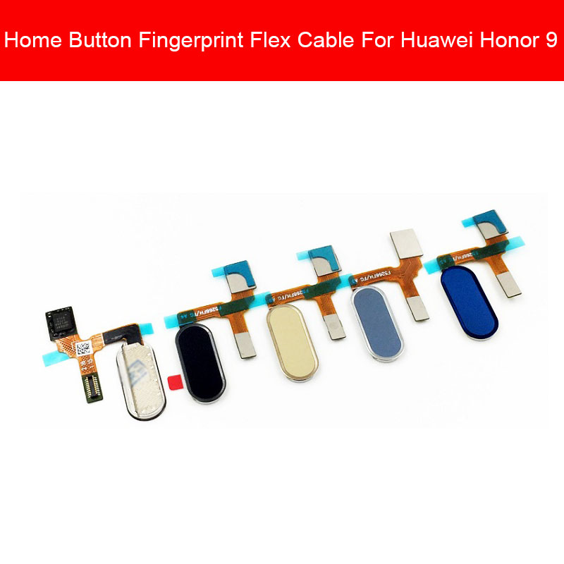 Home Button Fingerprint Flex Cable For Huawei Honor Glory 9 STF-AL00 STF-AL10 STF-L09 Menu Return Touch Sensor Replacement