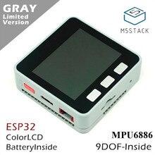 Комплект для разработки ядра датчика движения M5Stack серии ESP32 MPU6886 9Axies, расширяемая плата для разработки IoT M5Stack для Arduino ZK10