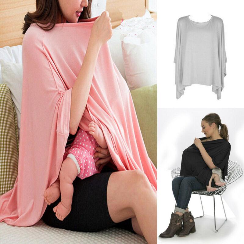 Breathable Baby Feeding Nursing Covers Mum Breastfeeding Nursing Poncho Cover Up Adjustable Privacy Apron Outdoors Nursing Cloth
