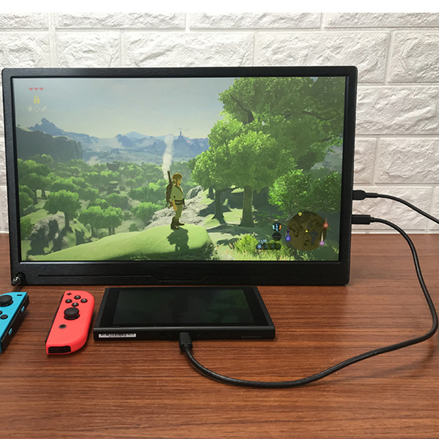 17.3 Inch High Resolution 4K Monitor With HDR For Computer Phone NUC Expand Screen Game Console Display For PS4 XBOX NS Switch 4
