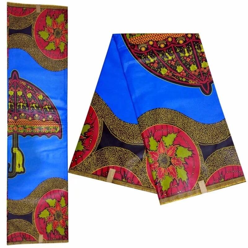 Nouveaux modèles africain ankara tissu textile 100% coton 6yards java impression cire tissus matériel pour femme cire robes! DF-4553