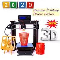 2019 Upgraded Full Quality High Precision Reprap Prusa i3 DIY 3D Printer MK8 LCD