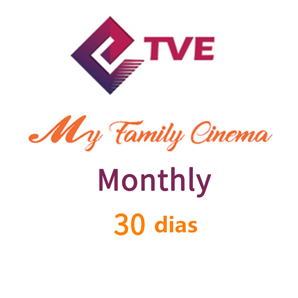 Monthly My Family Cinema + TVExpress Bundles IPTV Subscription MFC TVE Movies Brazil Spain Support English Portuguese Spanish