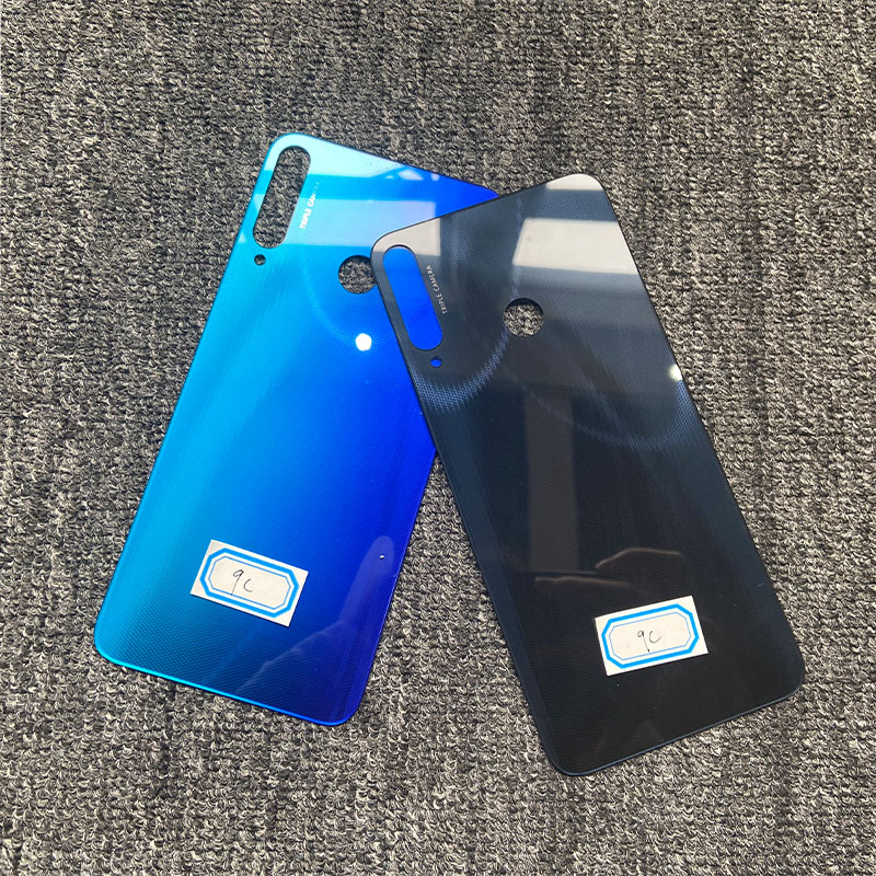 "Замена 6,39 ""Новинка для Huawei Honor 9C AKA L29 LX9 задняя крышка батарейного отсека задняя стеклянная панель Задняя крышка корпуса"
