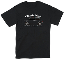 2019 New Mens T Shirts Classic Mini 1000 Cooper 60s Retro Car Shirt Tee Monte Carlo Rally Print Round Neck Man