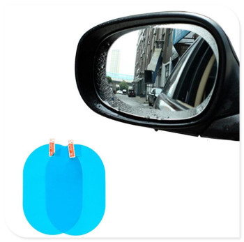 2PCS Car Rearview Mirror Anti-Fog Membrane styling for BMW E39 E90 E36 E60 E34 E30 F30 F10 X5 E53 E46 image