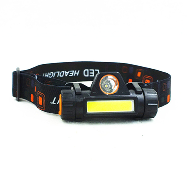 Mini camping portable XPE + COB LED lampe de poche réglable lampe de poche USB charge lampe frontale LED aimant camping lumière LED phares