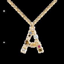 Silver 925 Letter Necklace For Women 26 Letter Diamond Alphabet Pendant Brand Gold Necklace Chrismas Jewelry Birthday Girls Gi
